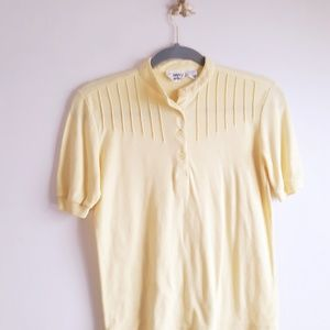 Vintage 80's Yellow Country Suburban T Shirt S